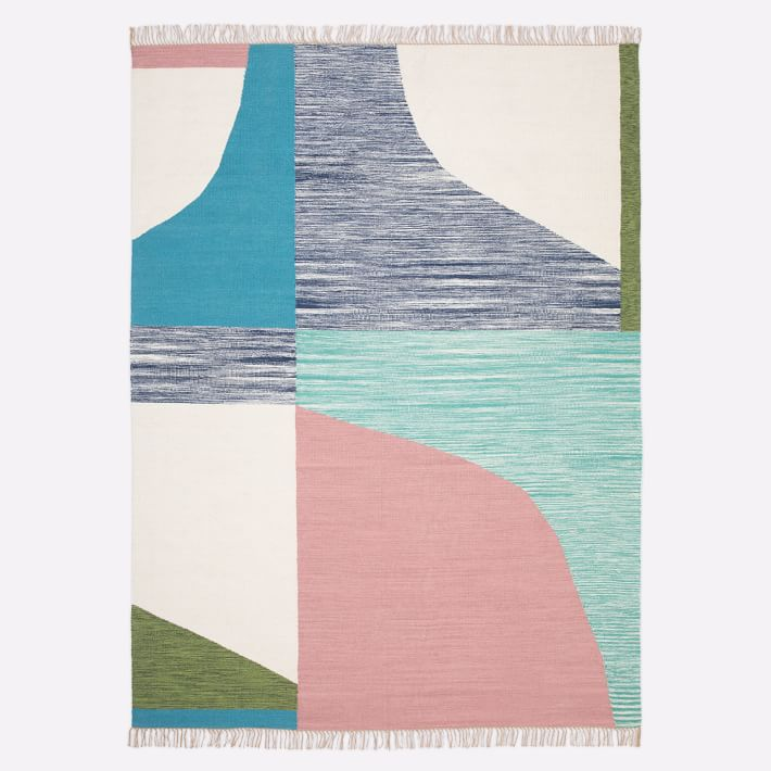 West Elm Colorful Rug
