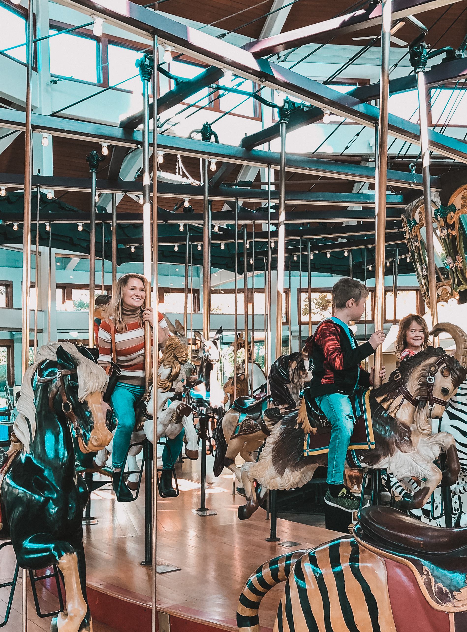 Coolidge Park Antique Carousel, Chattanooga TN