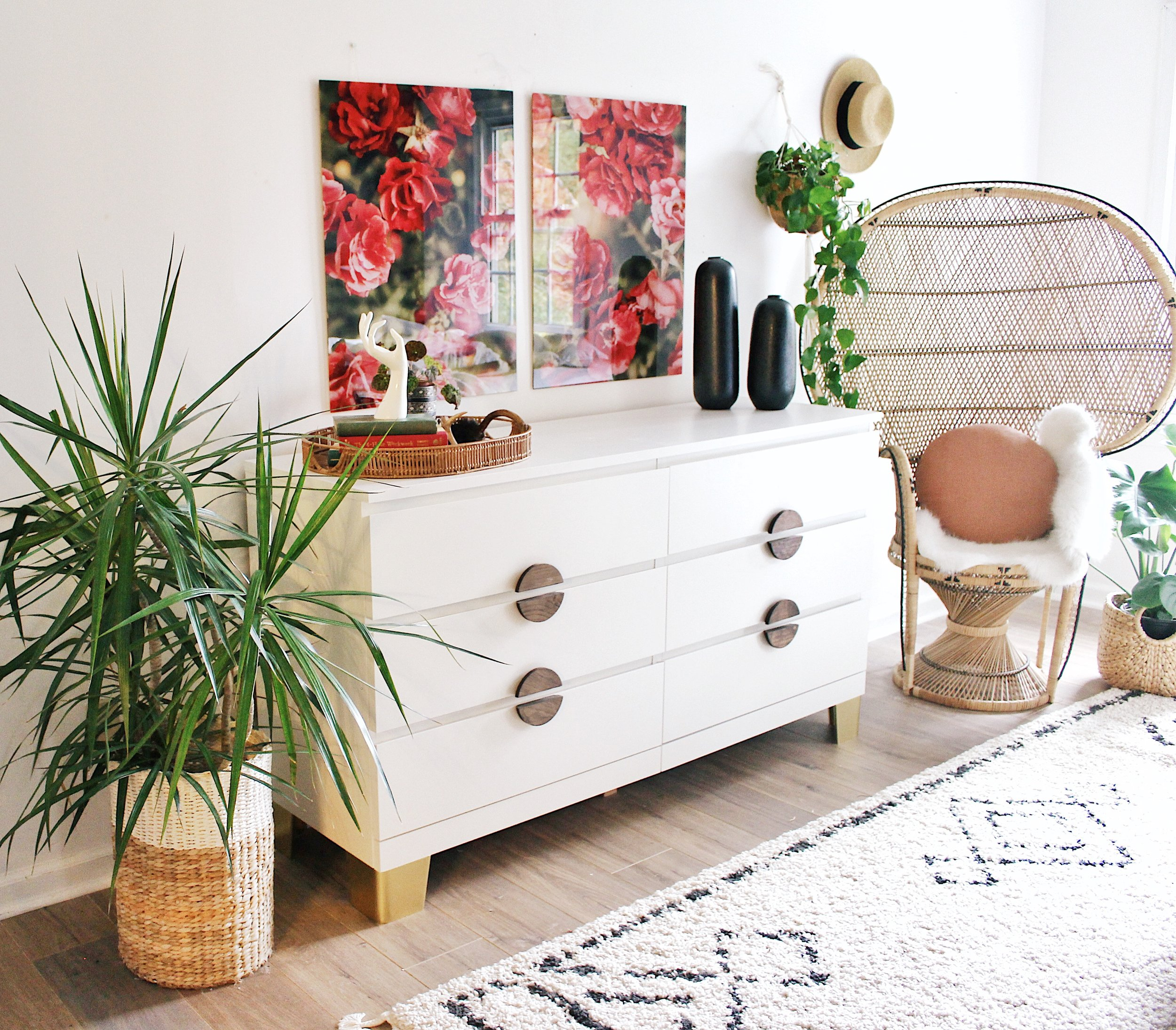 - How to dress up an IKEA dresser.