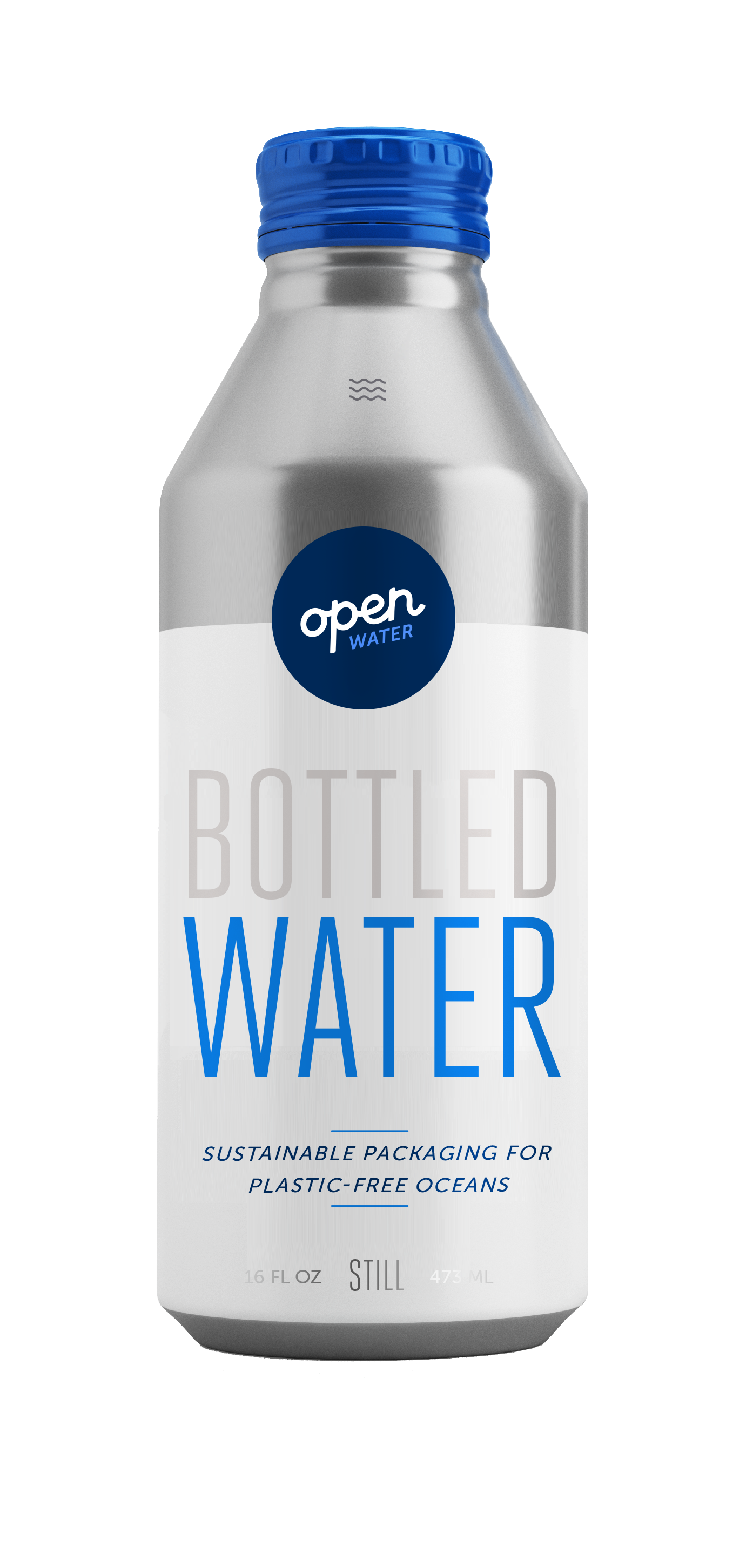 Open Water - Still Bottled Water in aluminum
