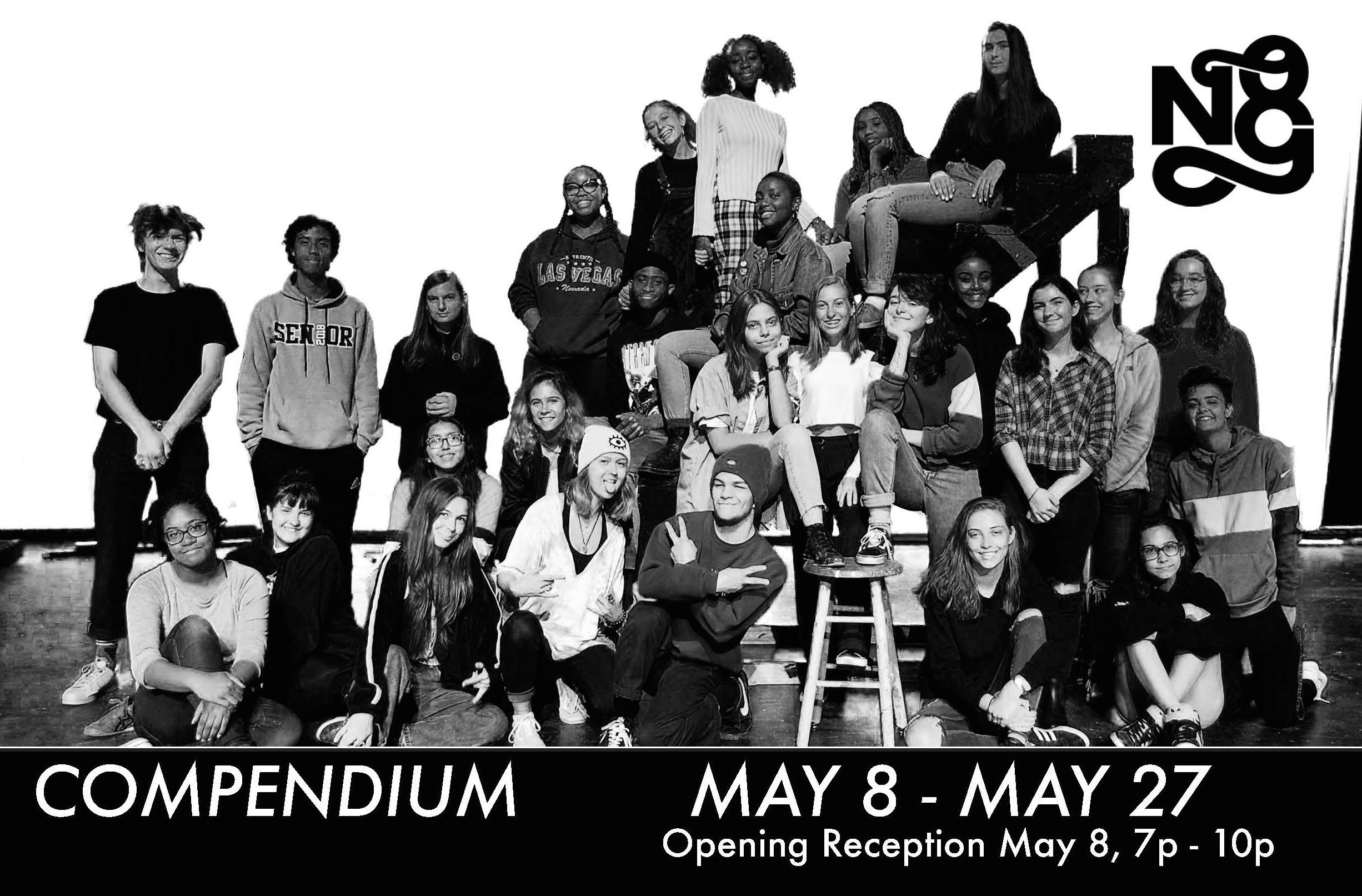 COMPENDIUM - An exhibition of Grady High School Advanced Portfolio Development Students 2018.May 8 - May 27, 2018