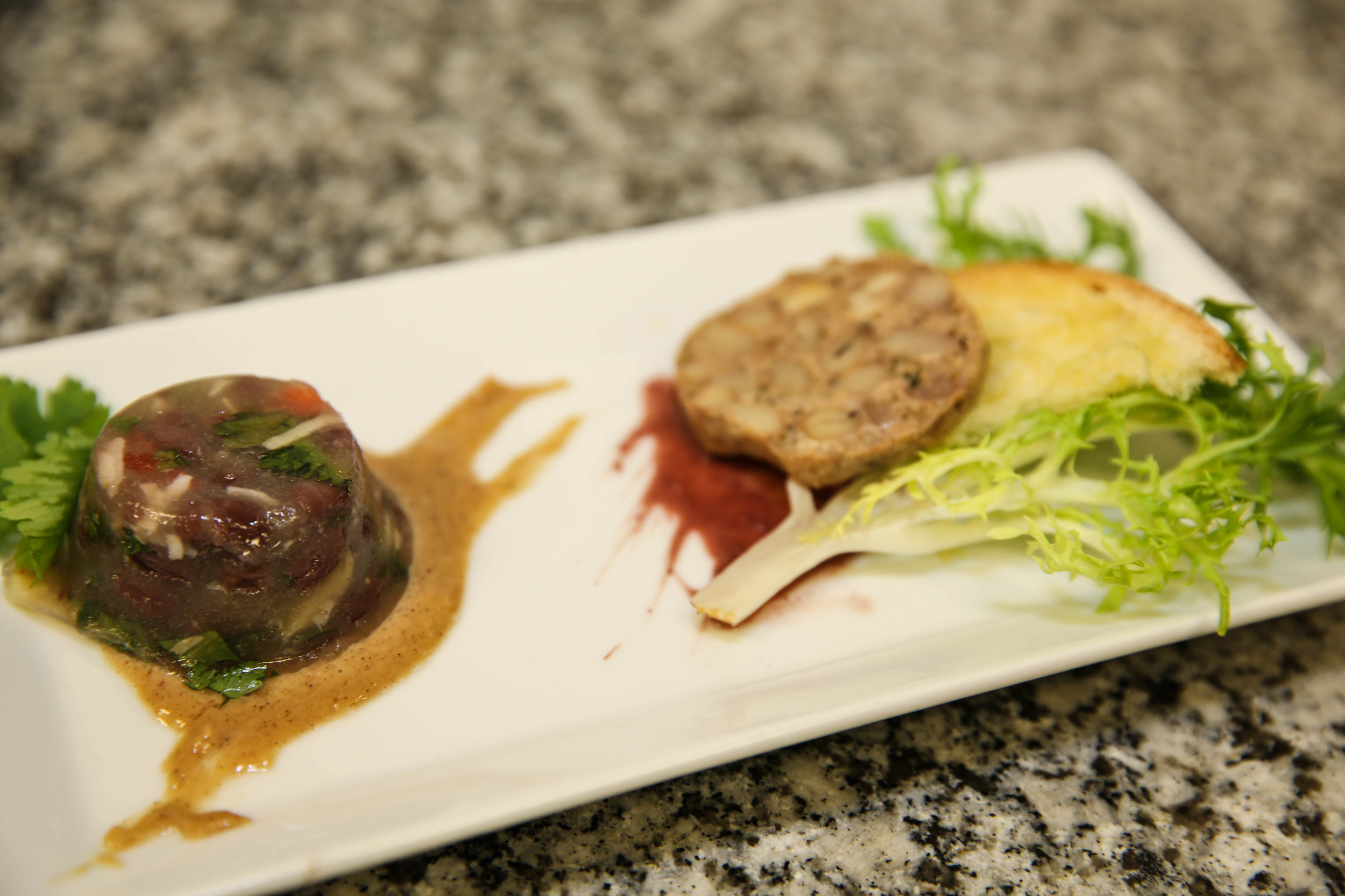 Plant-Based Aspic & Pate
