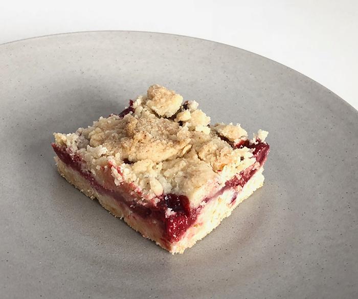 Easy to make berry crumb bars recipe