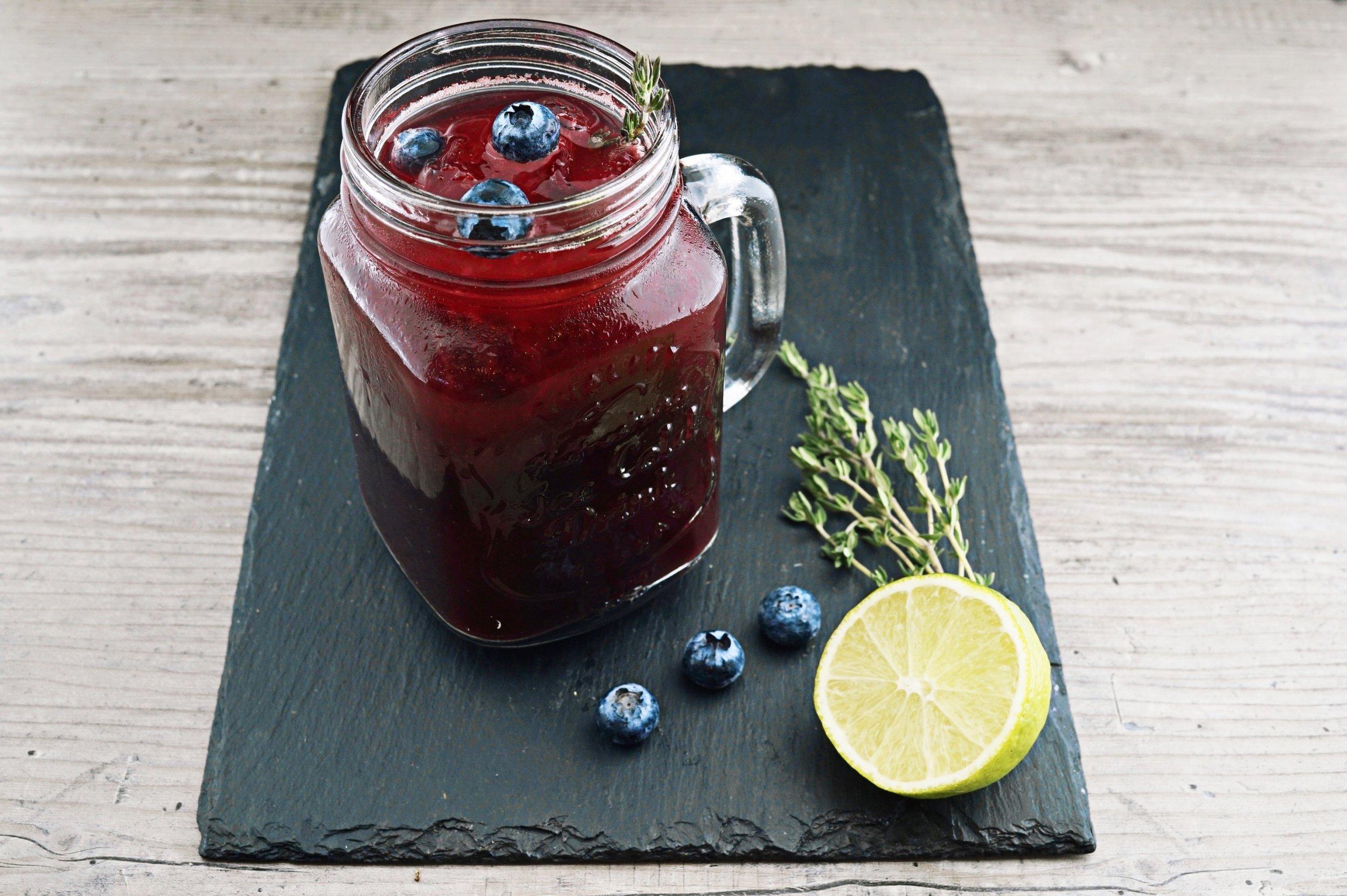 Jam in cocktails