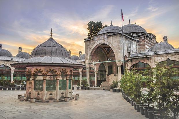 The Sokollu Mehmet Pasha Mosque, courtyard / Photo © Islamic Arts Magazine