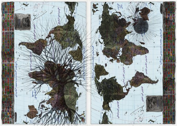 GDyslexia-1-Acrylic-and-ballpoint-pen-on-Iranian-world-map-Diptych-100-x-70-cm-each-2015.jpg