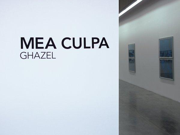 Catalogue Text/Interview for Ghazel's  Mea Culpa  catalogue    Carbon 12 Gallery, Dubai, 2016