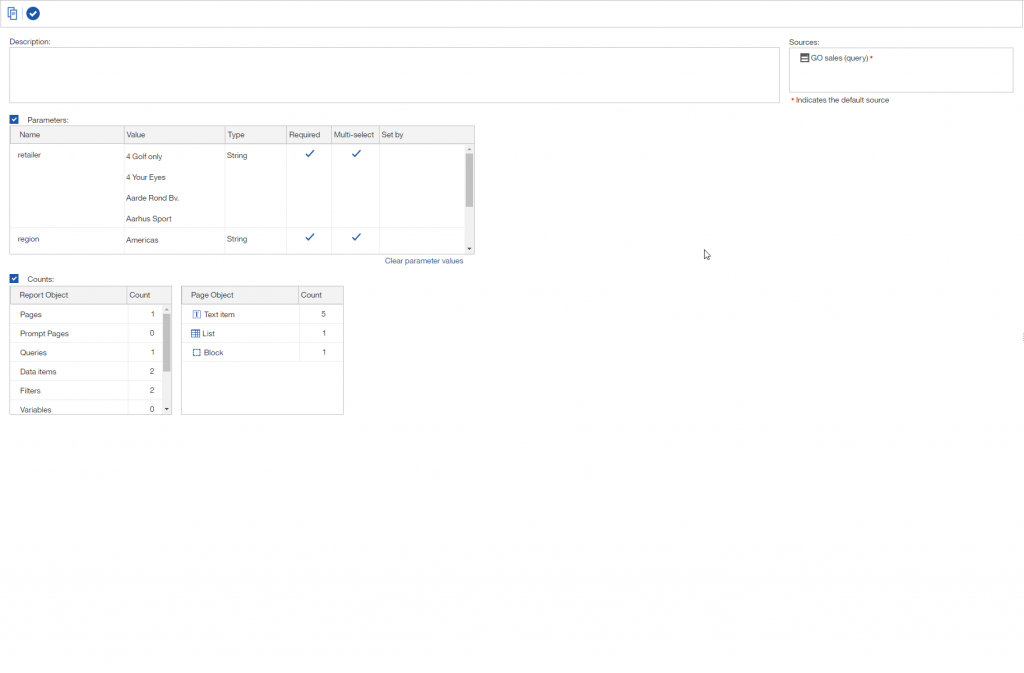 The report overview page gets a makeover