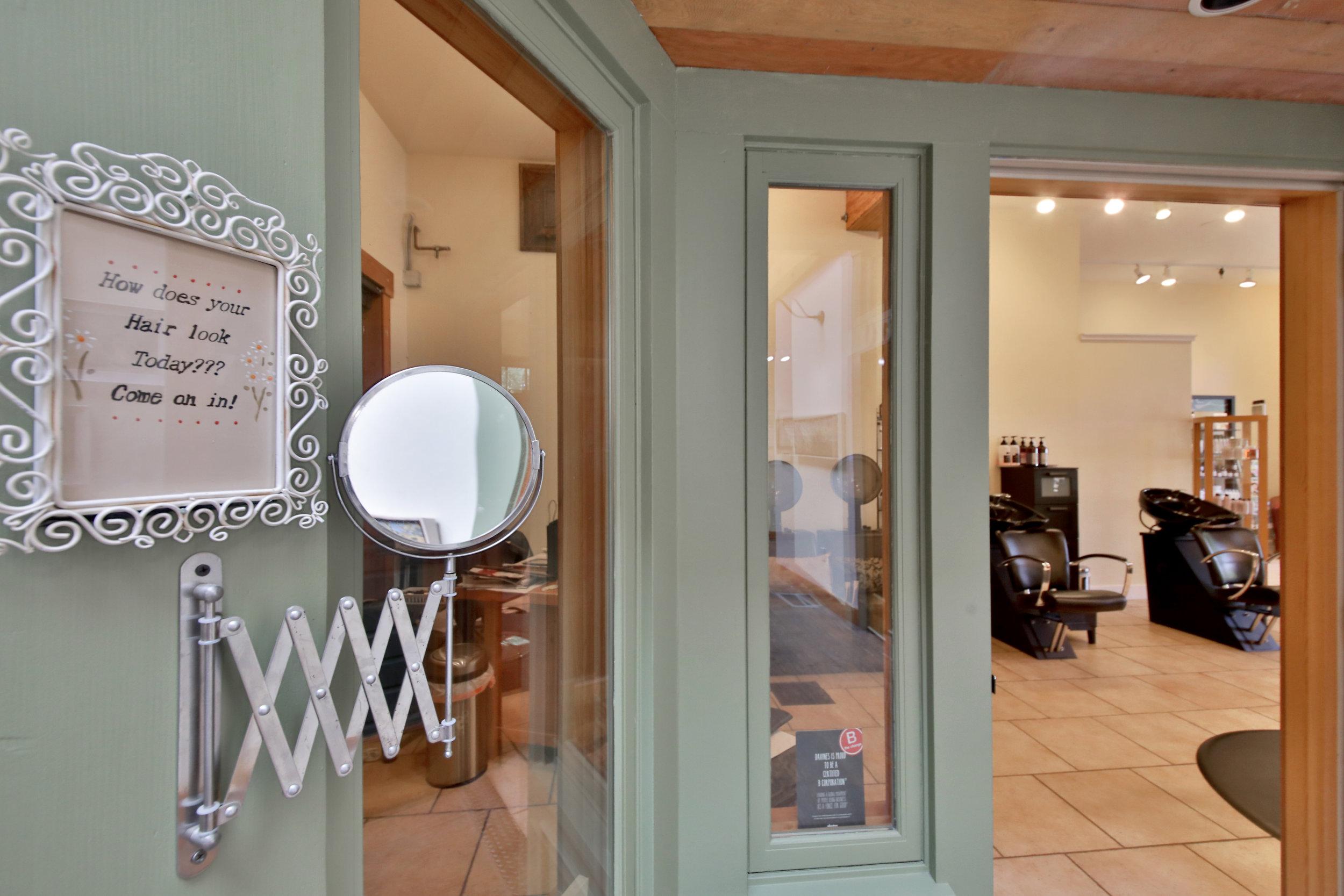 Alternate Entrance from Inside Bayview Corner's Main Floor