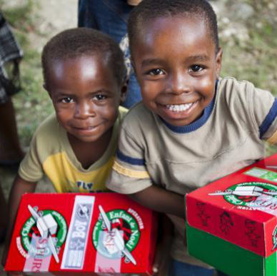 OPERATION CHRISTMAS CHILD -