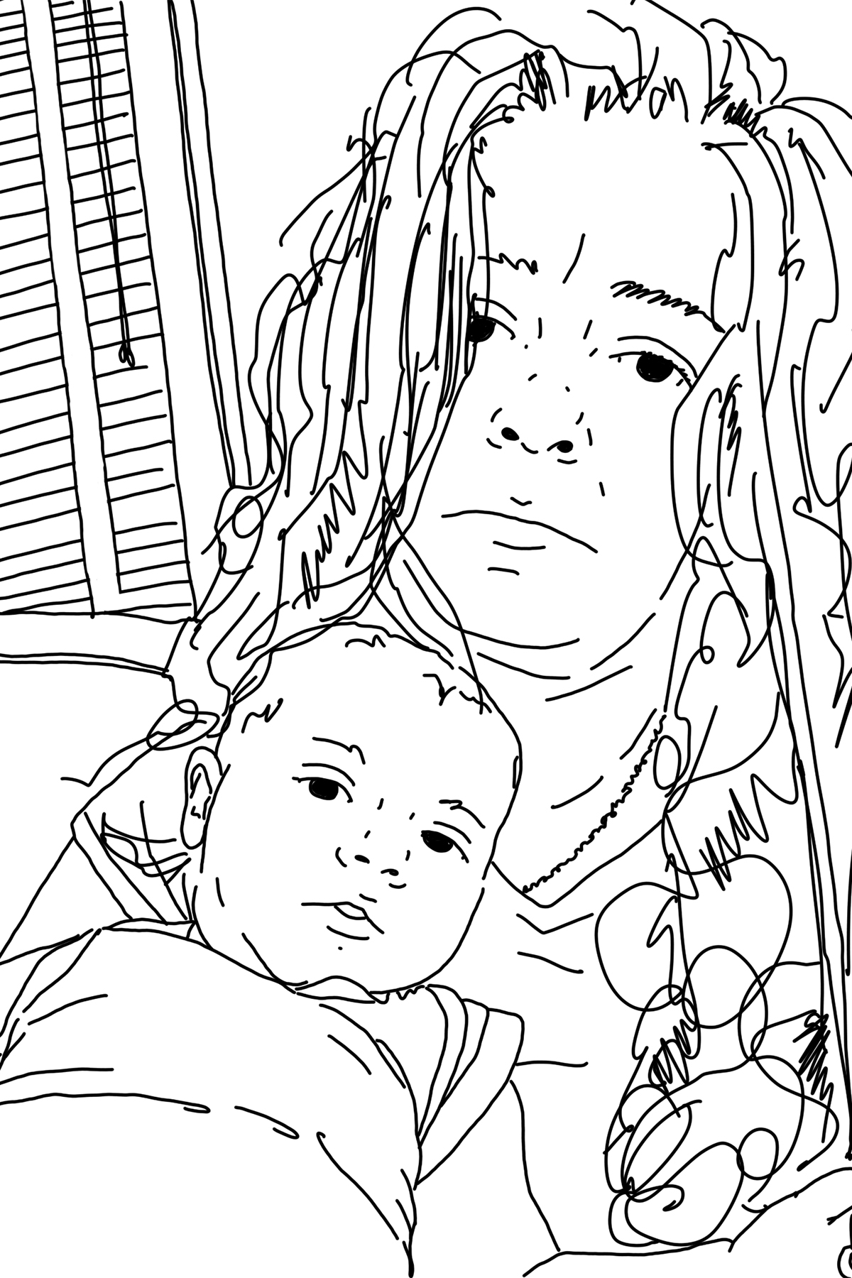 - Mara Sprafkin escaped Brooklyn, New York a few years ago and currently lives in Charlottesville, Virginia with her husband and two kids. She started drawing her son not long after he was born and before long other people were requesting drawings of their own kids, grandkids and pets.