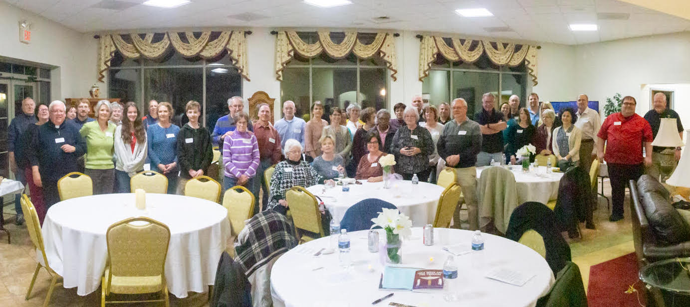Liturgical Minister's Dinner April 1, 2019 in Shepherd's Cove