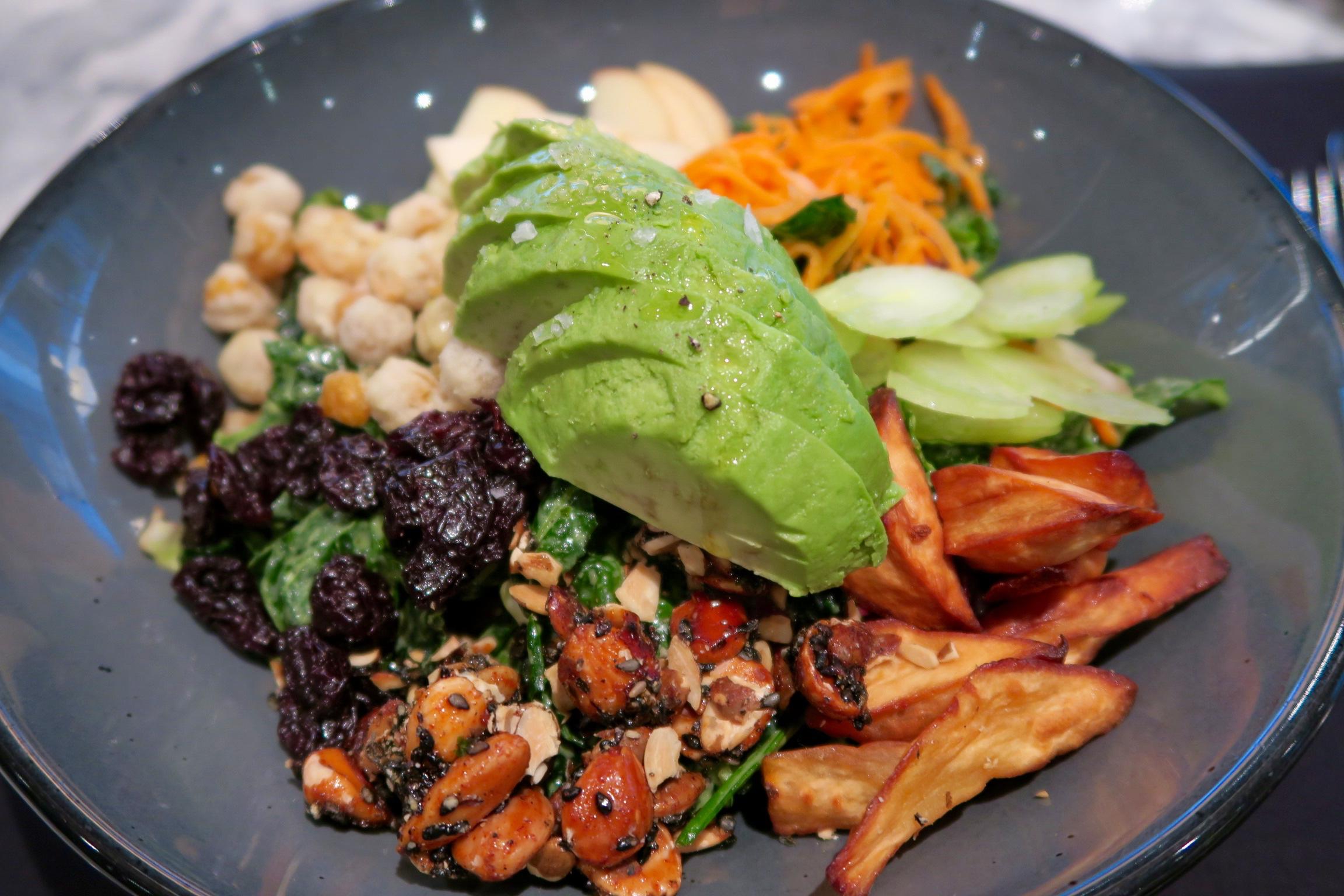 Chop Salad  kale, avocado, marcona almond