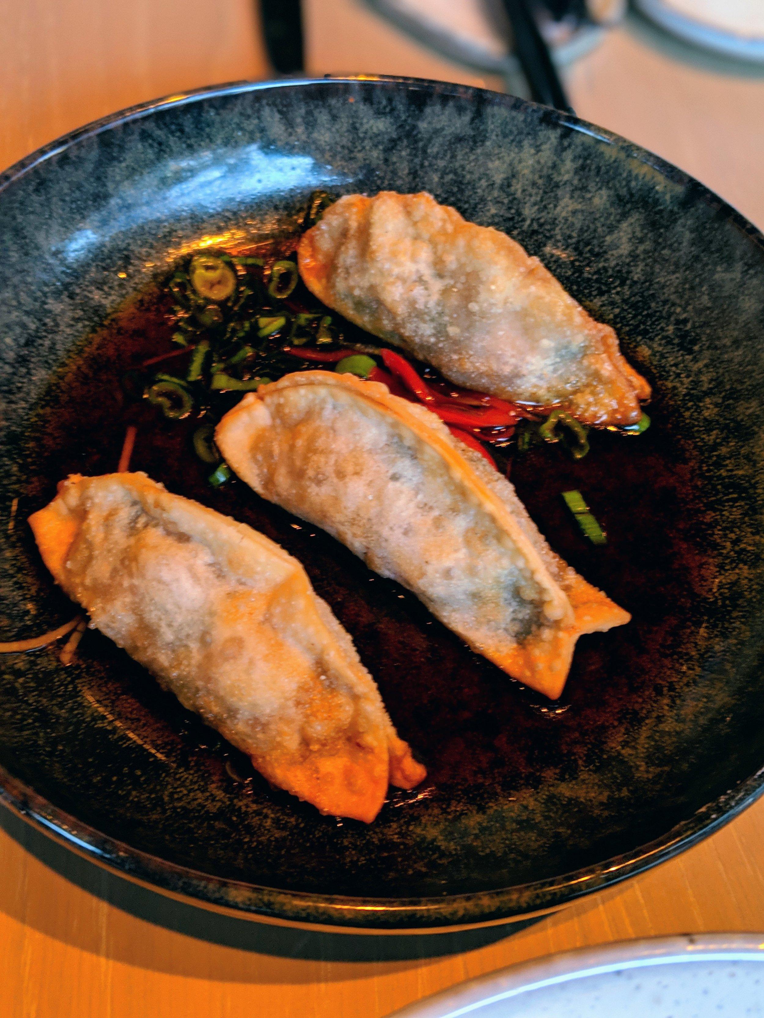 Crispy Mapo Tofu Dumpling