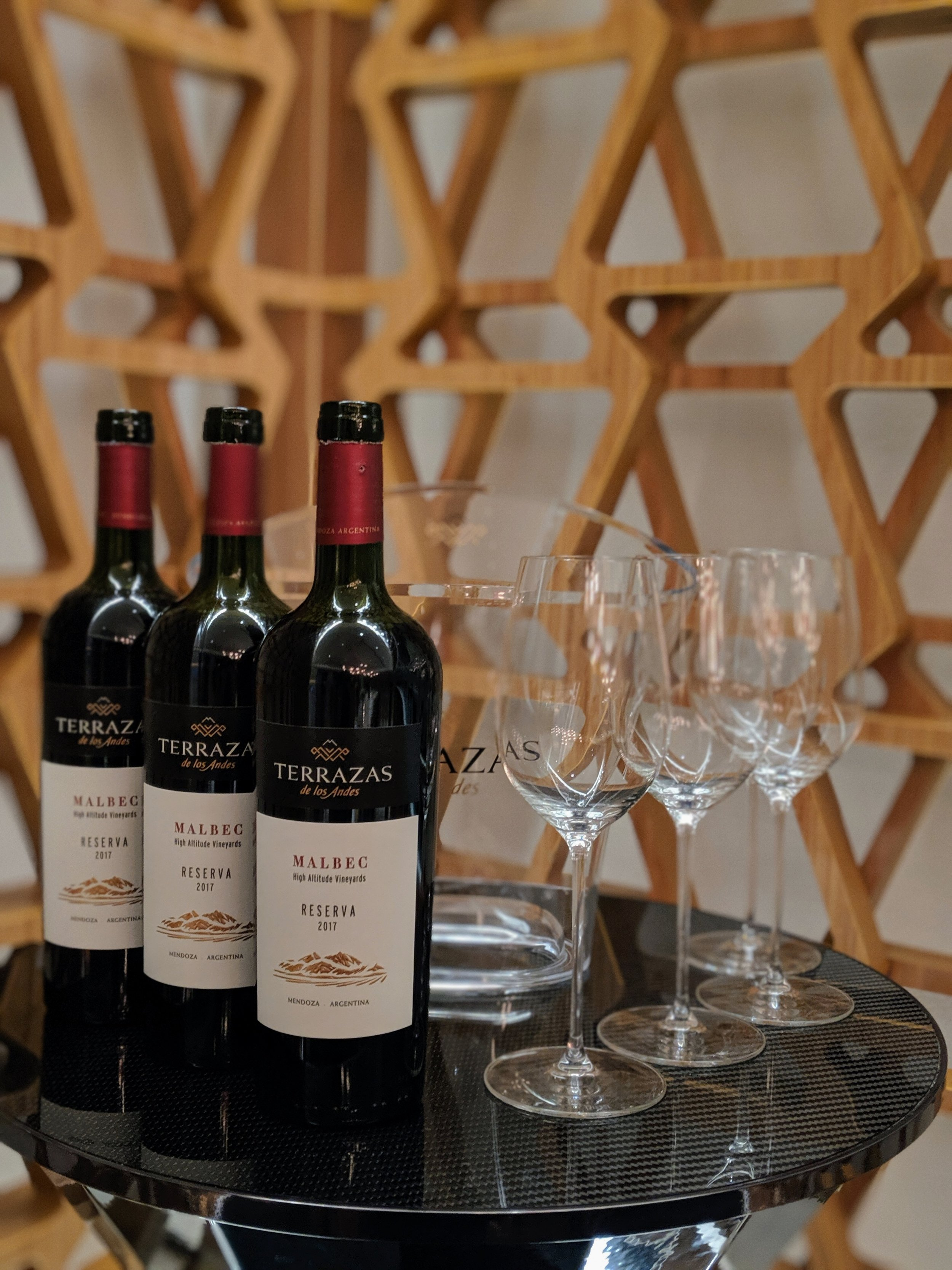 The house's signature  Reserva ,  Single Vineyard Malbec,  and  Cabernet Sauvignon  expressions.