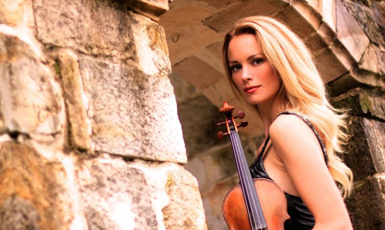 Violinist Caroline Campbell