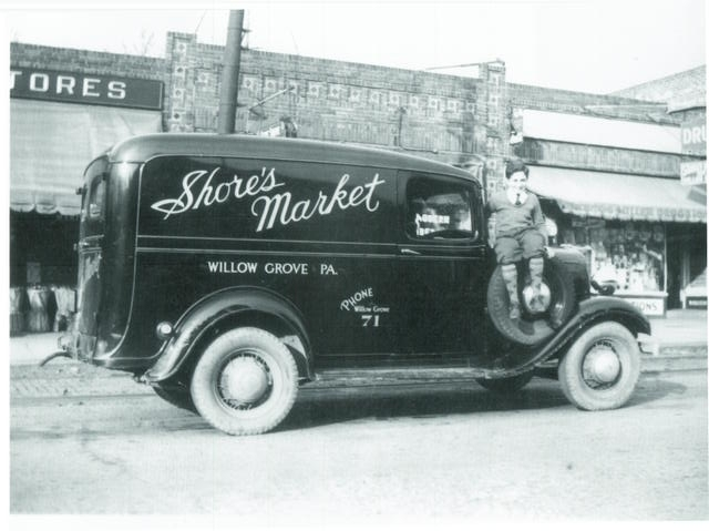 Shore's Market Delivery Truck