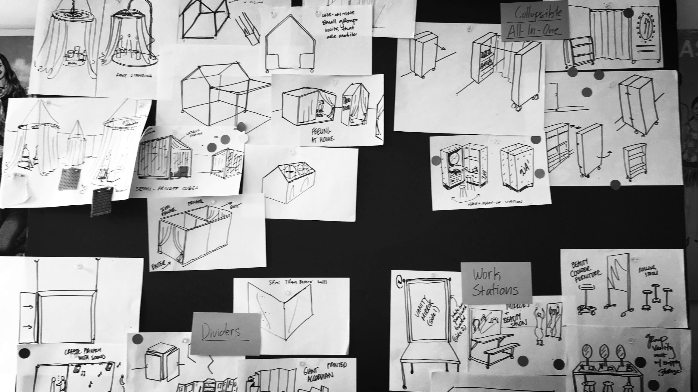 I ideate… - to explore unexpected directions andfind unique approaches.brainstorming, rapid prototyping, analogous inspiration