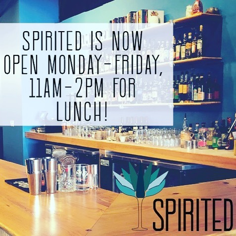 Did you know we are open for lunch now?
