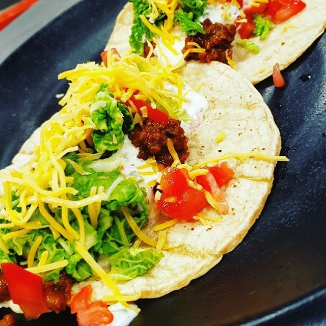 It's TACO TUESDAY and we are featuring American Tacos! $2 each