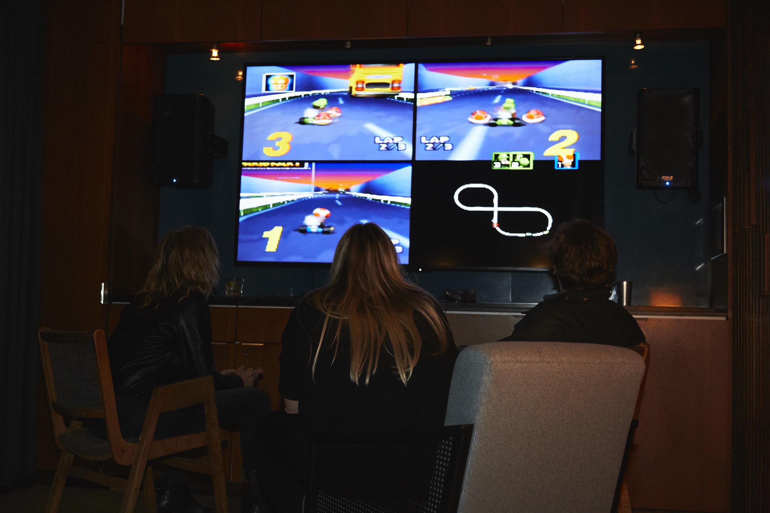 Nintendo 64 game room