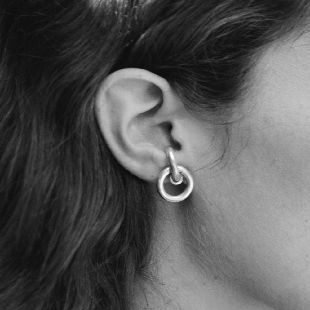 Lobe Earrings by Sophie Buhai