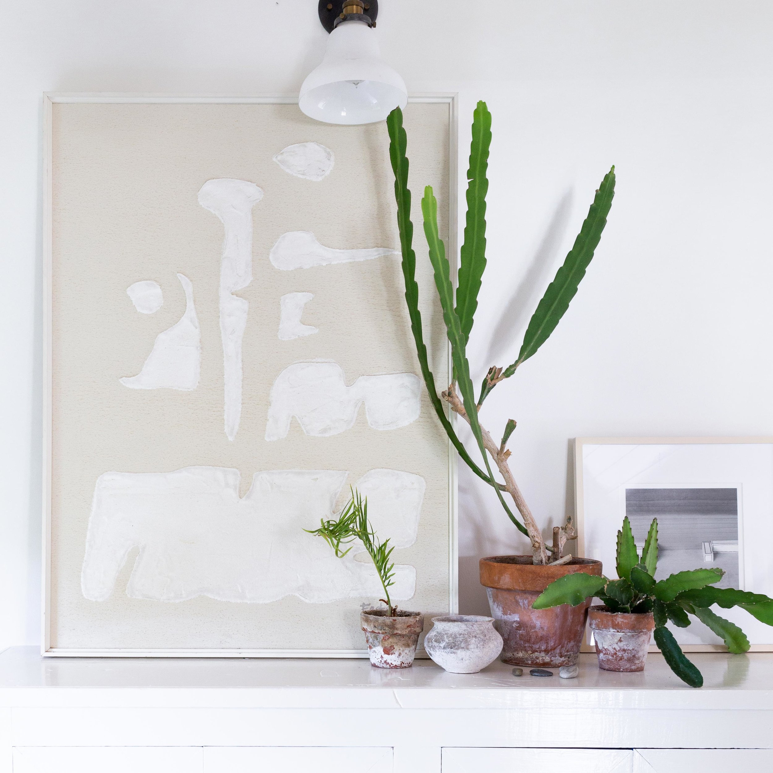The guesthouse is a living gallery of AP Shop goods, Prewitt's own personal collections, and her favorite succulents. -