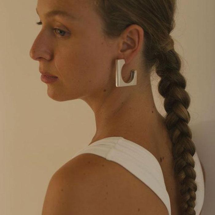 Large Isa Earrings by Agmes