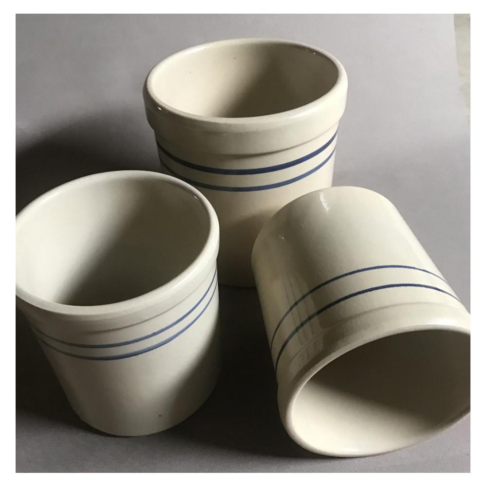 Vintage Marshall Pottery Crock set of 3