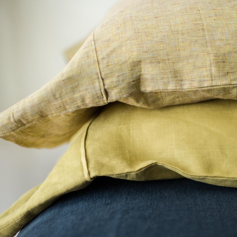 Oline Linen Bedding in Blueberry by Modernplum