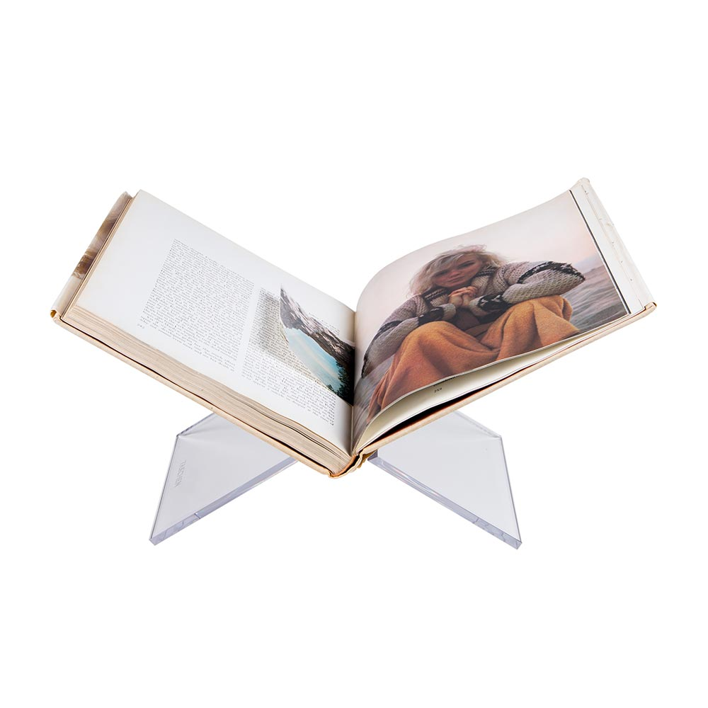 Clear Acrylic Bookstand $40