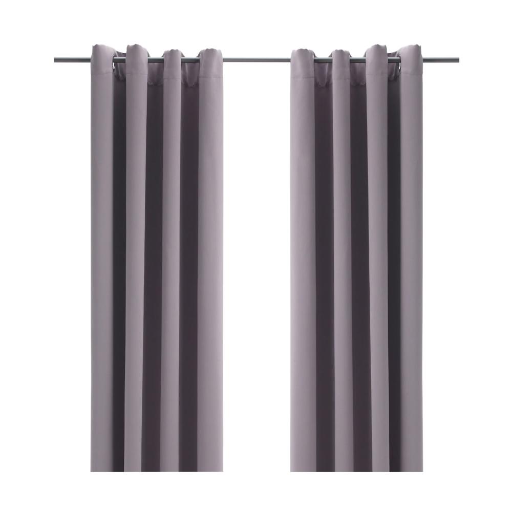 BOLLOLVON Blackout curtains, 1 pair $14.99