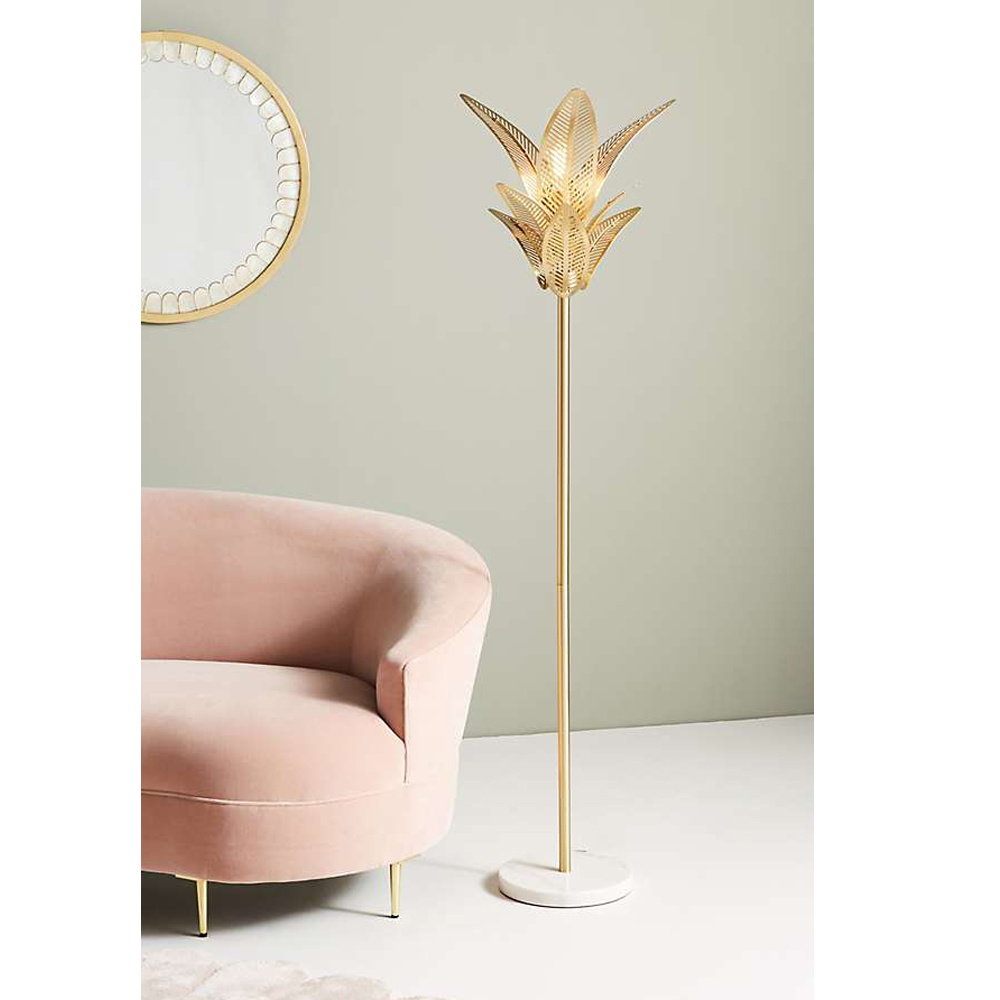 Palm Frond Floor Lamp $548