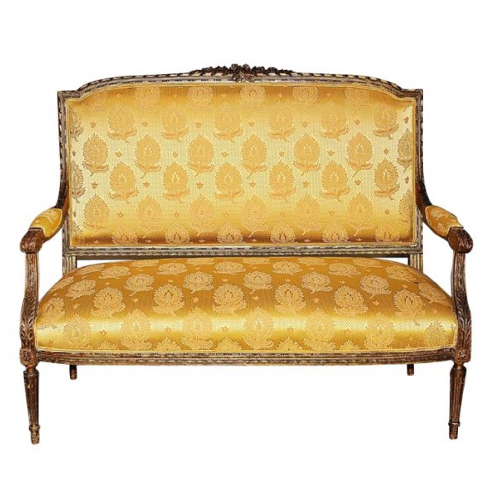 Antique French Settee $2,695