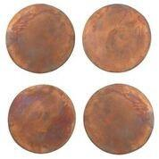 Set of 4 Copper Coasters design by Sir/Madam $56