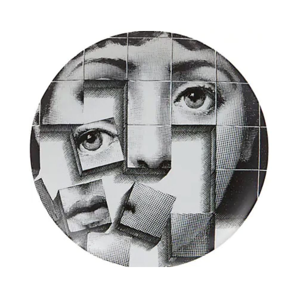 FORNASETTI Theme & Variations Plate No. 180 $185