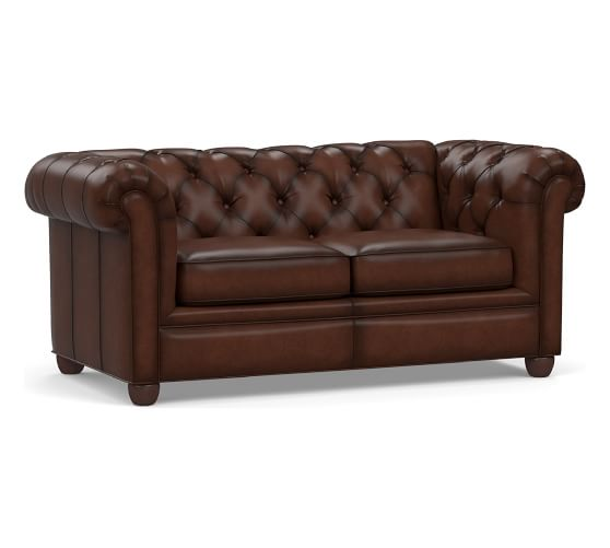 CHESTERFIELD LEATHER SOFA from $2699