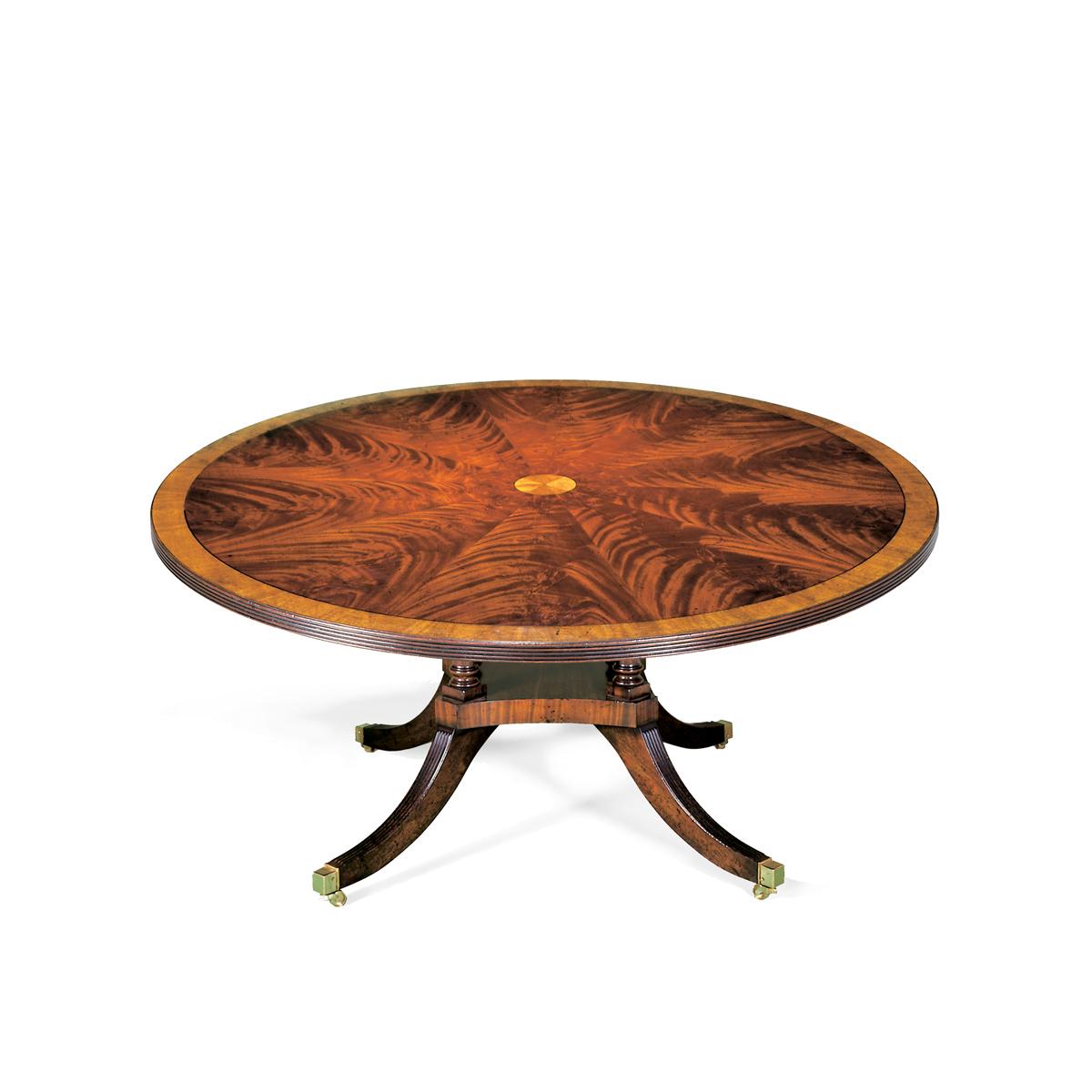 Sheraton Pedestal Table