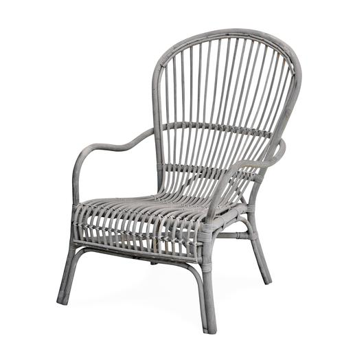 Pair of Natural Rattan Chairs $695