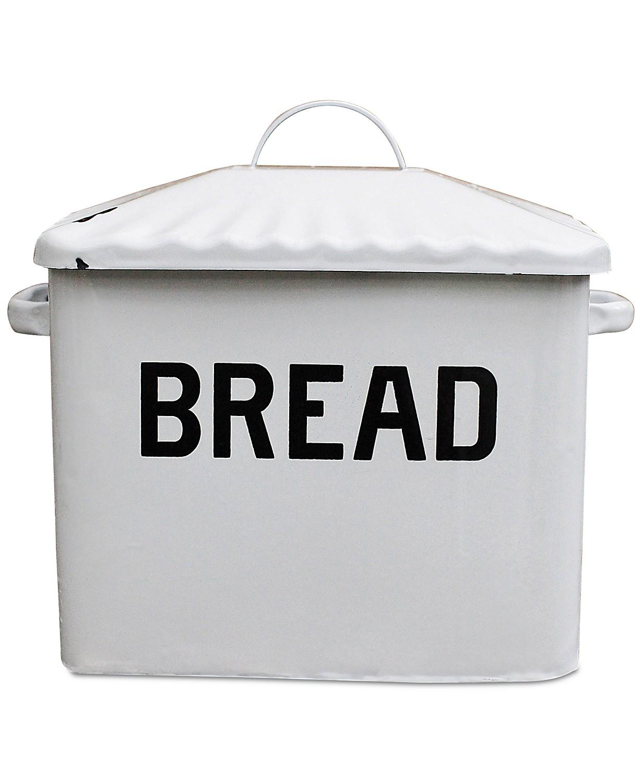 3R Studio Enameled Metal ''Bread'' Box $100