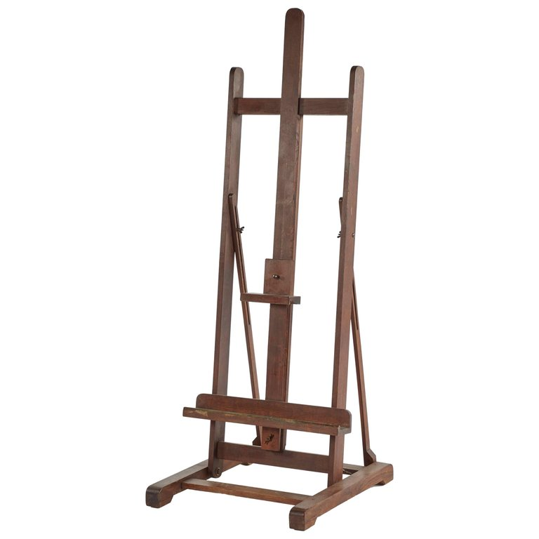 Late 19th Century English Wooden Artist's Easel $2,475