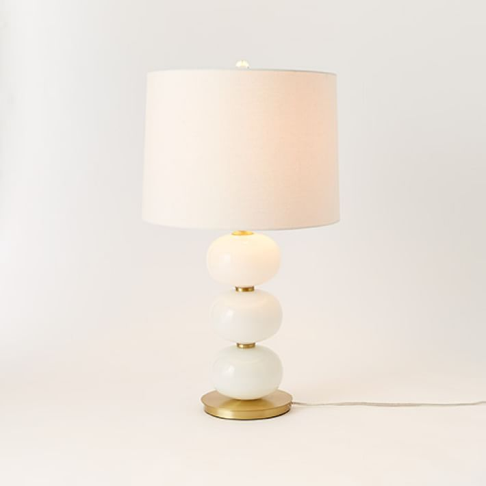 Abacus Table Lamp - Milk White $199