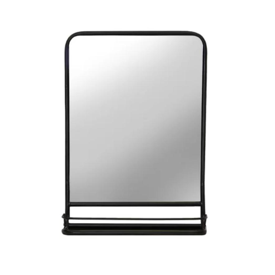 Cadbury Metal Accent Mirror with Shelf $149.99