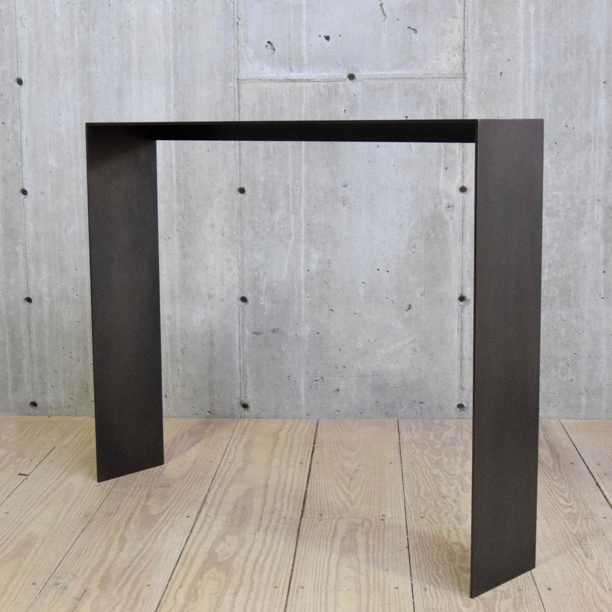 Blackened Steel Staple Console $2,200