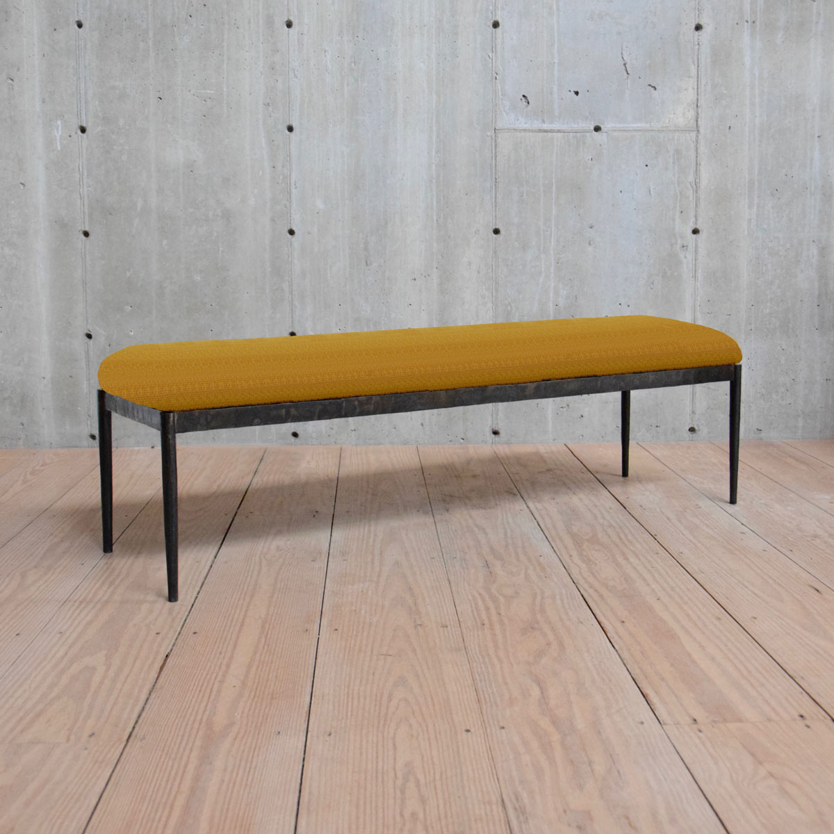 Monaco Style Bench with Upholstered Seat $2,800