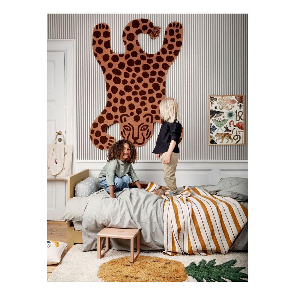 Safari Tufted Rug - Leopard €199