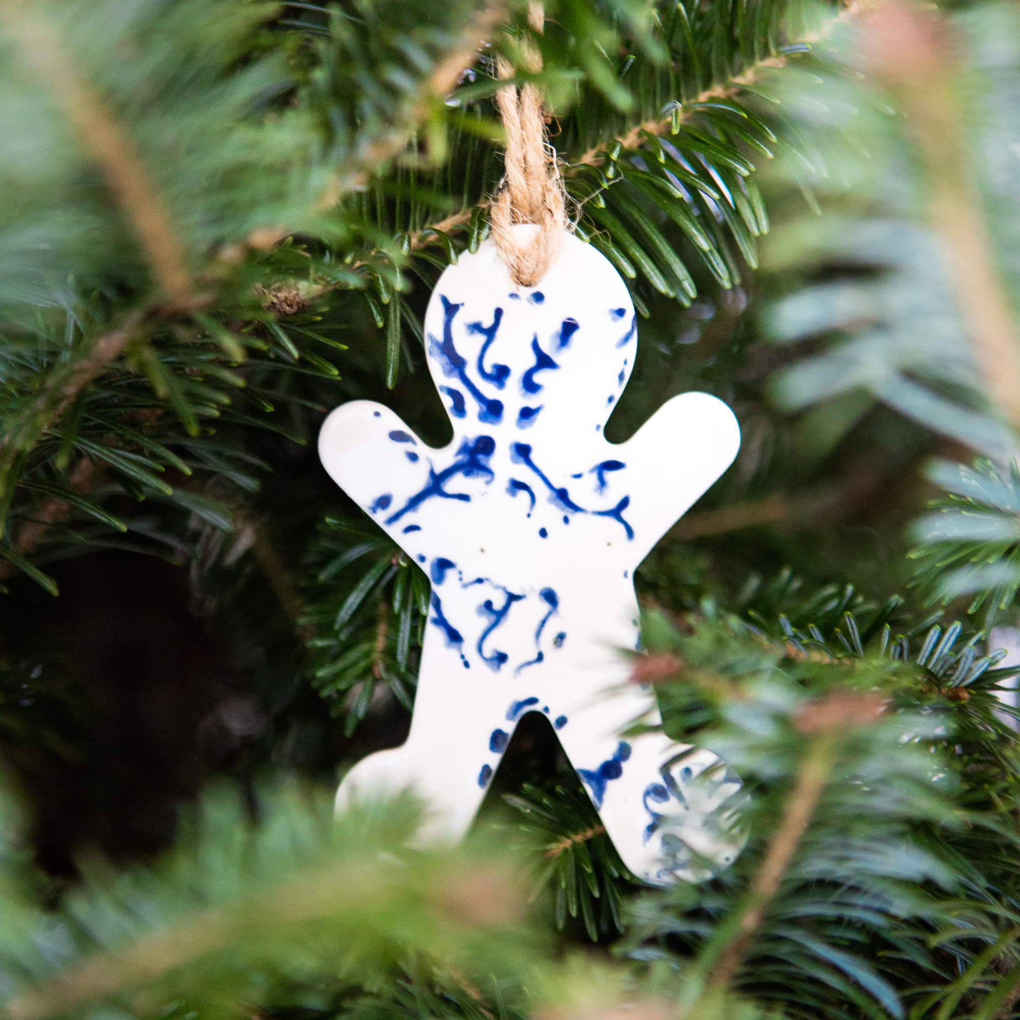 Ceramic Ornaments (Set of 2) $26