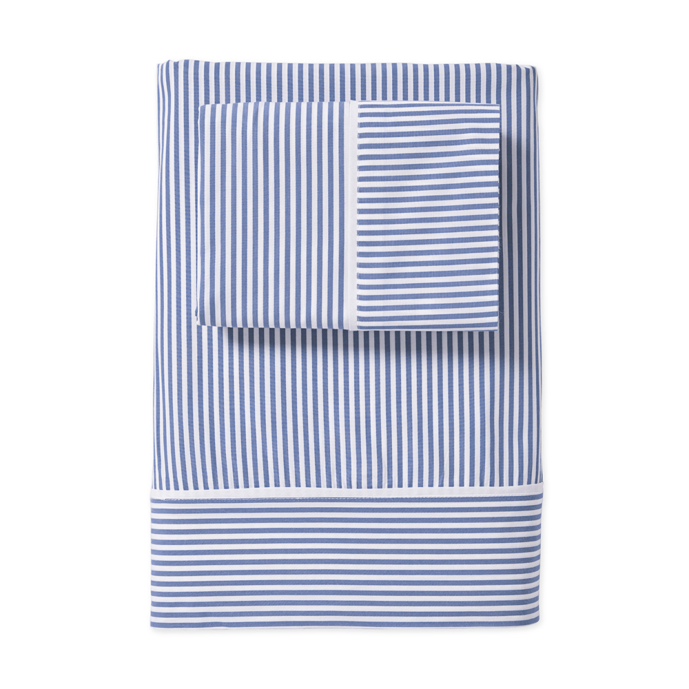 Oxford Stripe Sheet Set, from $198.00