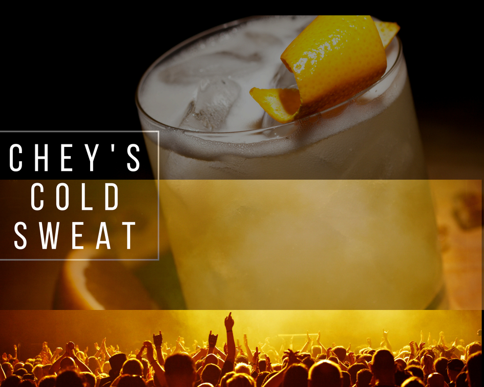 Like a Rock Star - 1 oz Vodka1 oz Peach Schnapps1/2 oz TequilaSour mixPut all ingredients into a shaker filled with crushed ice.Shimmy like a rock star.Pour contents into a glassgarnish with an orange peel or slice of sugared lemon.
