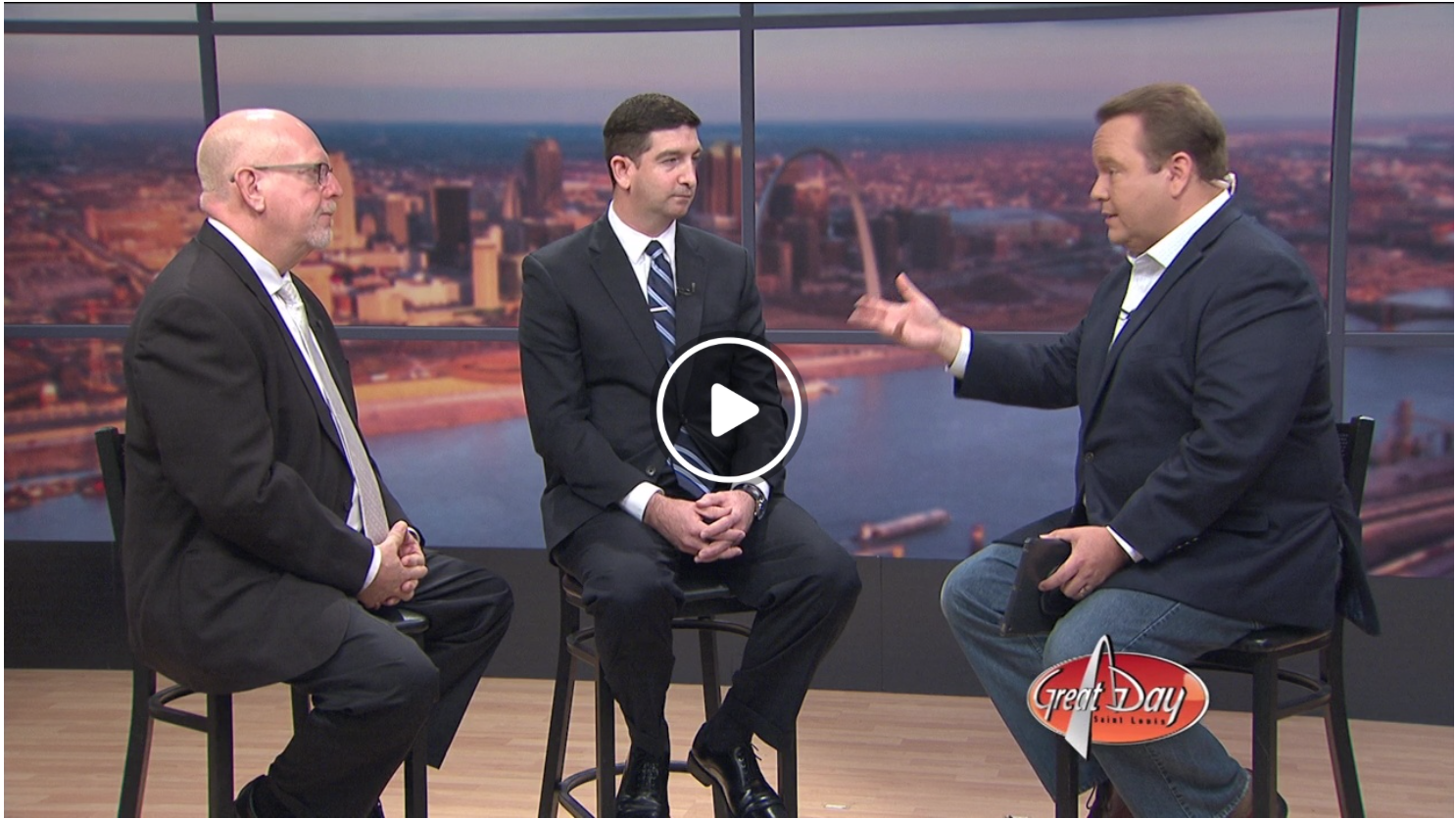 Money Matters Monday - Tyson Eagen, CPA makes another guest appearance on Great Day St. Louis to discuss Charitable Distributions.